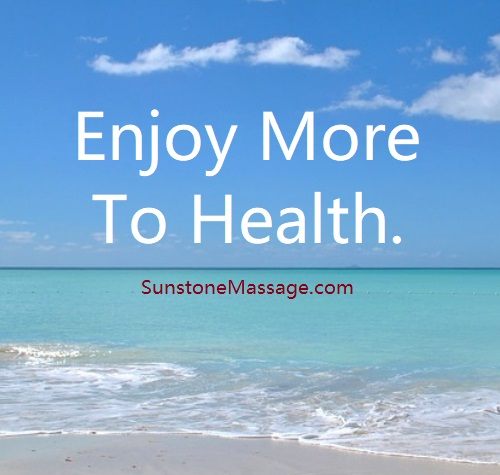 Enjoy more to health - Massage.