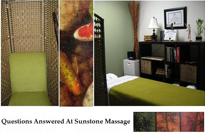 Ask The Massage Therapist - Questions Answered At Sunstone Massage Registered Treatment Clinic