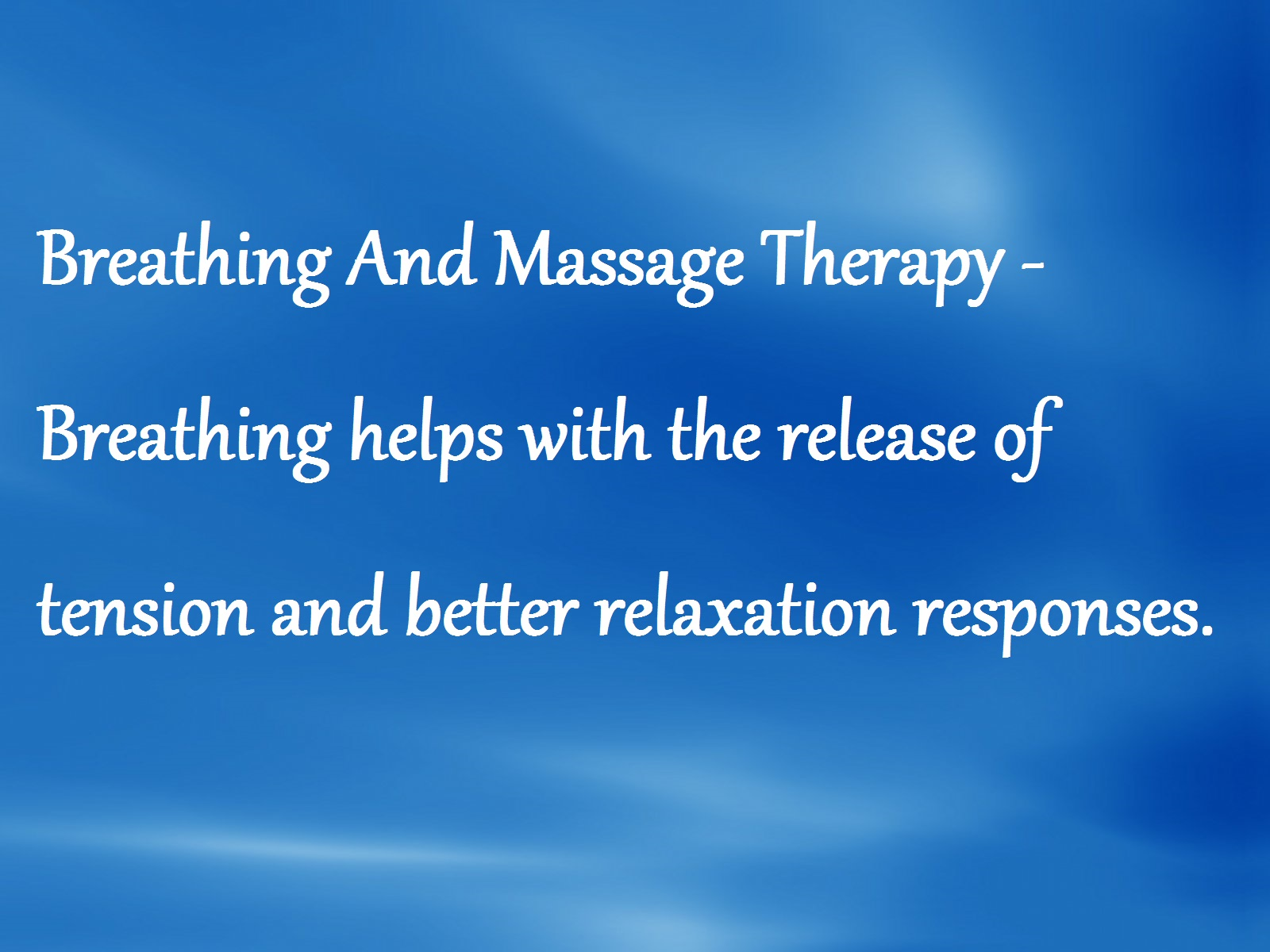 Sunstone Registered Massage Therapy - Breathing And Massage Therapy