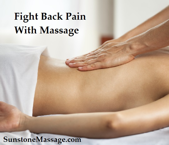Fight Back Pain With Massage