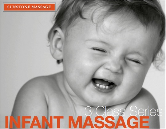 Infant Massage Class Series Sunstone Registered Massage Therapy Woodbridge Ontario