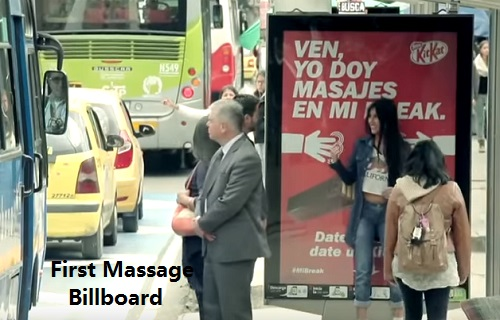 First Massage Billboard