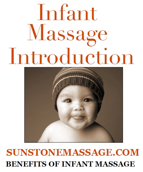 Infant Massage How To Instruction Sunstone Massage Registered Massage