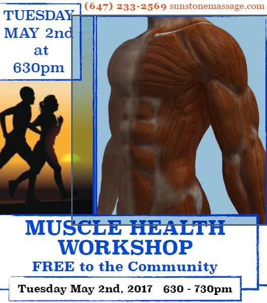Muscle Health Free Workshop Vaughan Ontario Canada