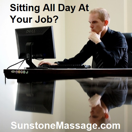 Sunstone Massage Sitting All Day At Your Job