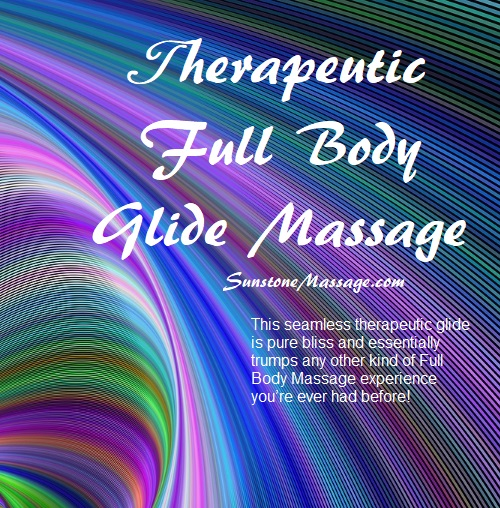 Sunstone Registered Therapeutic Full-Body Glide Massage