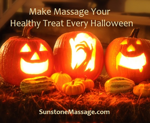 Make Massage Your Healthy Treat Every Halloween