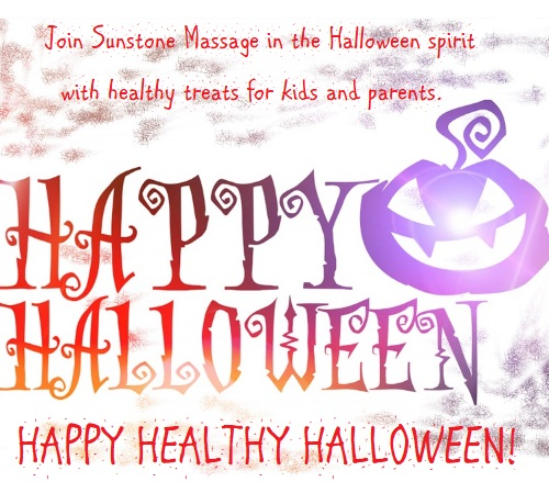 Sunstone Registered Massage Happy Healthy Halloween
