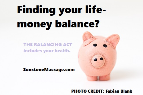 THE BALANCING ACT includes your health Sunstone Registered Massage RMT Vaughan Ontario