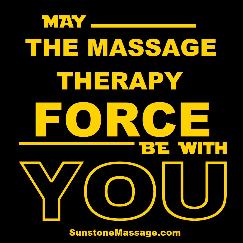 MAY THE MASSAGE THERAPY FORCE BE WITH YOU, RMT VAUGHAN ONTARIO CANADA