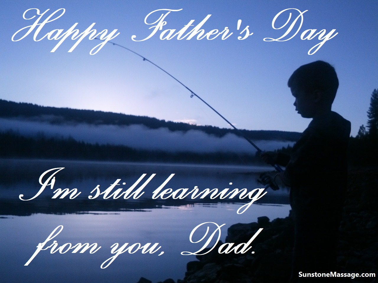 I'm Still Learning From You Dad Happy Father's Day Registered Massage Ontario Vaughan RMT