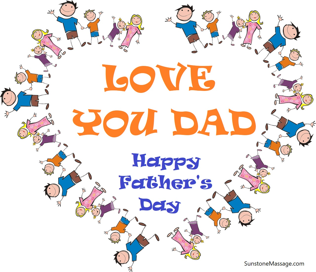 LOVE YOU DAD Happy Father's Day Vaughan Ontario Massage RMT Registered