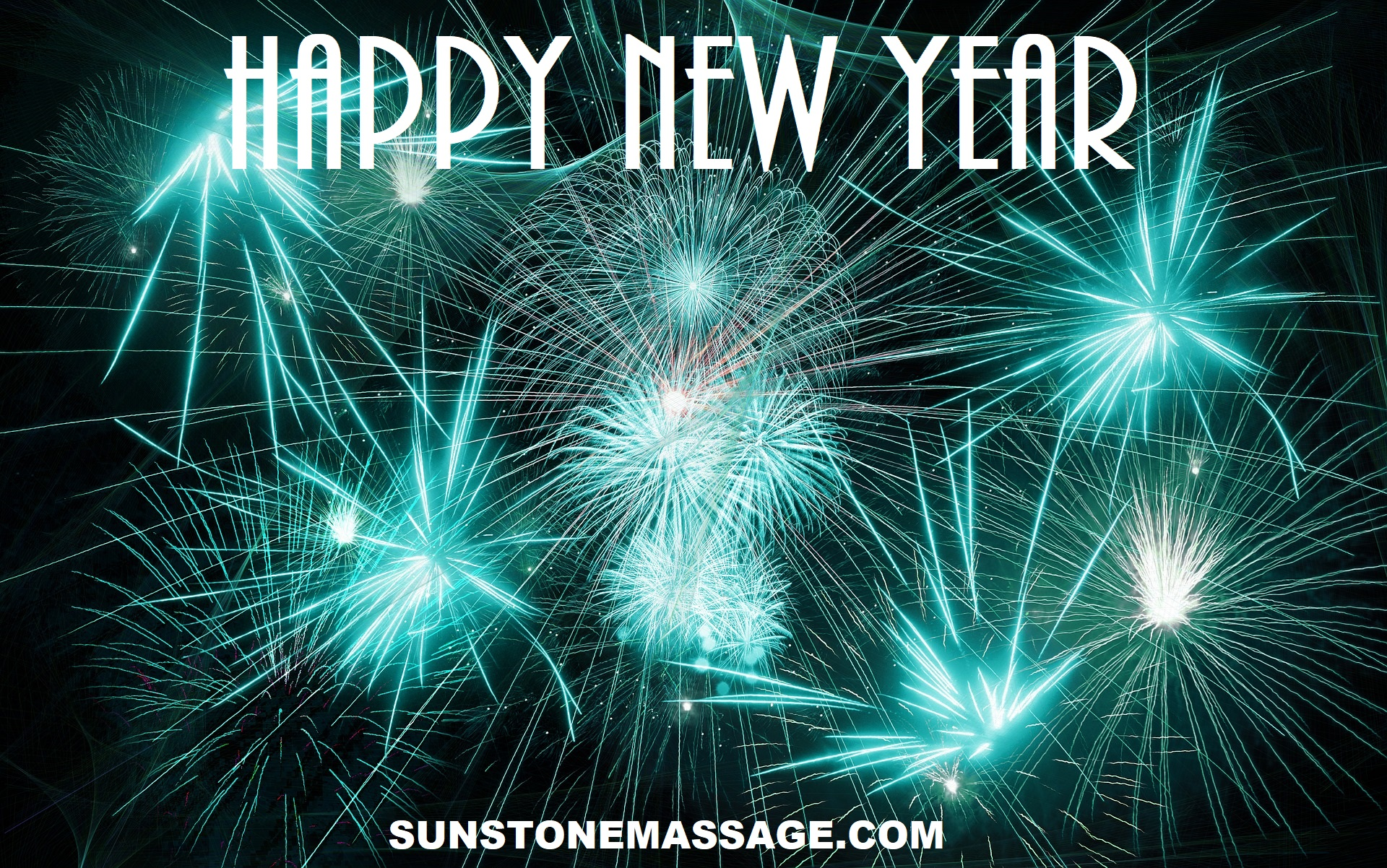 HAPPY NEW YEAR WISHES, IMAGES, GREETINGS AND MESSAGES WITH MASSAGE THERAPY