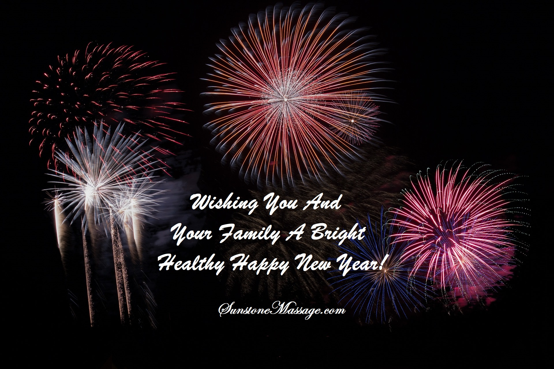 wishing you and your family a bright healthy and happy new year