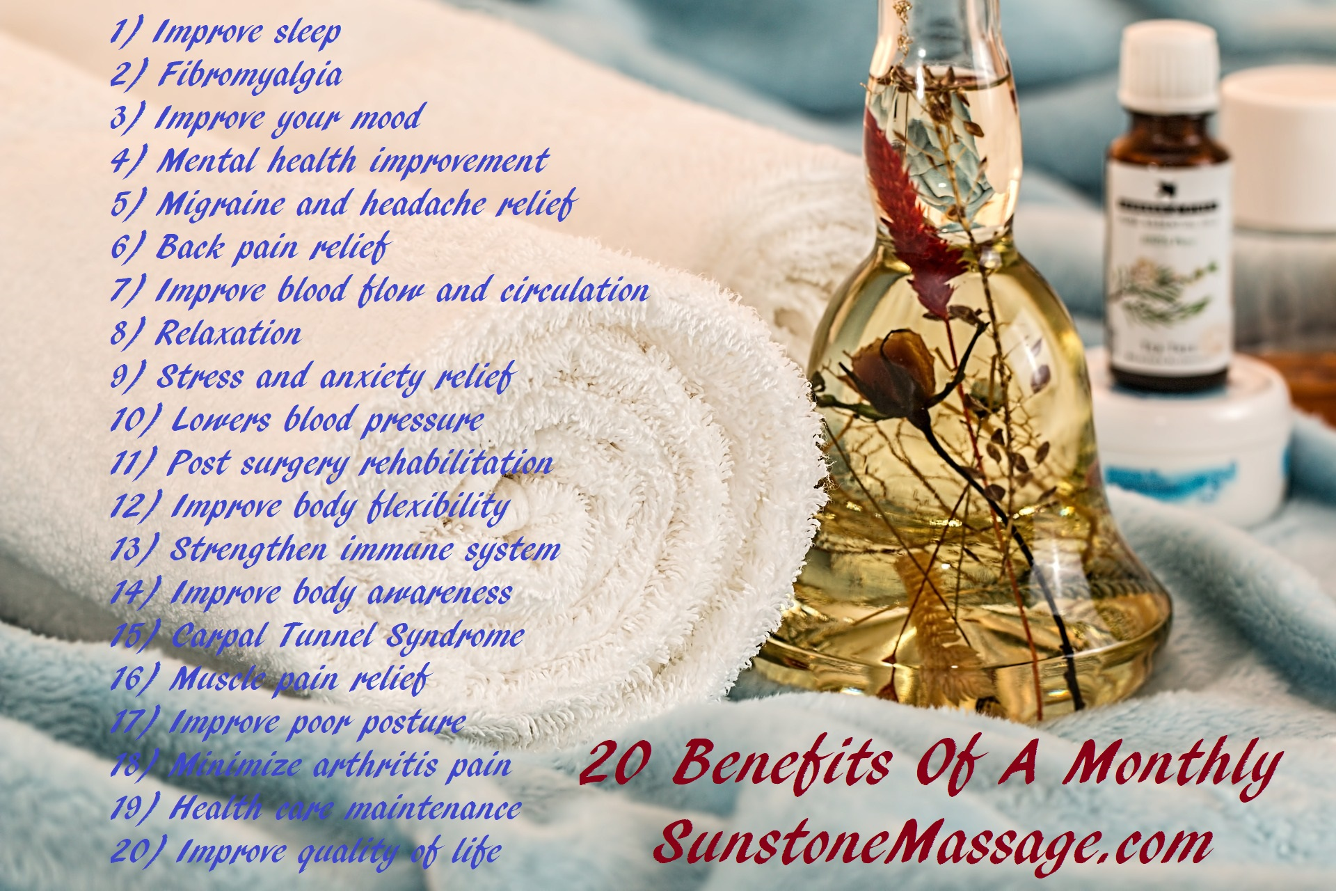 20 Benefits Of A Monthly Massage Woodbridge Ontario Massage Therapy