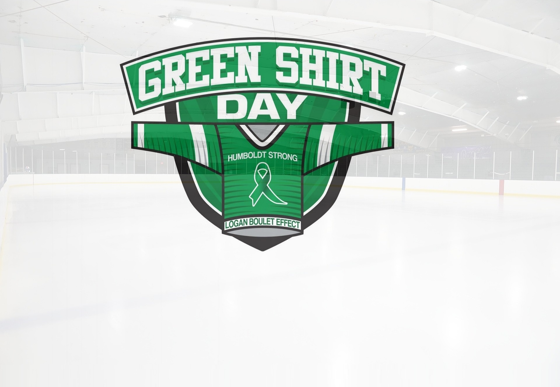 Logan Boulet Effect Green Shirt Day And Positive Healthy Outcomes