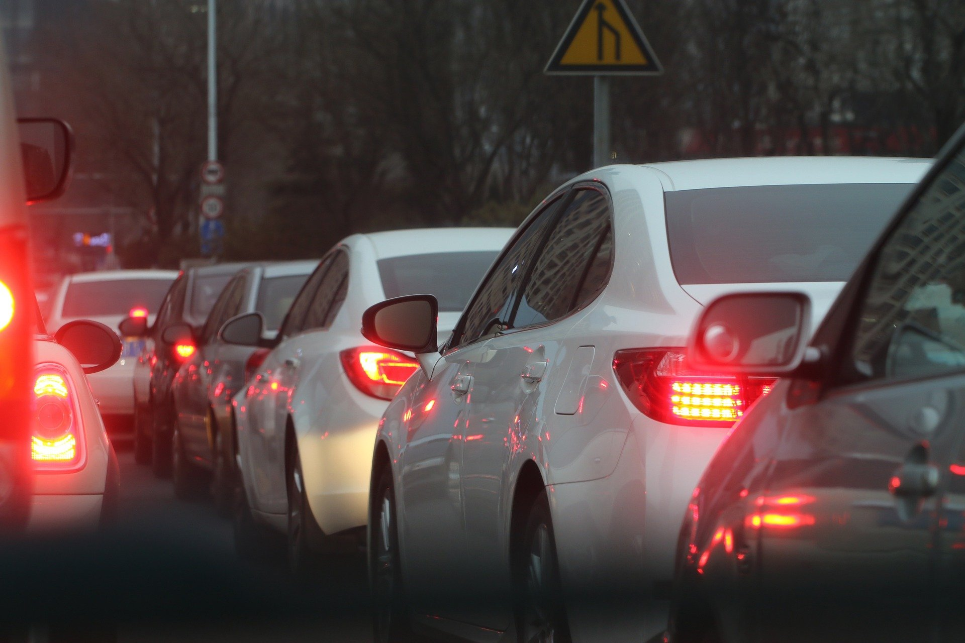 Driving Traffic Jams Causes Stress And Massage Therapy
